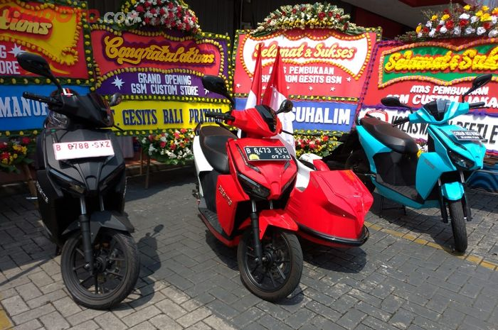 Gesits Buka Dealer Dijakarta Ini Dealer Pertamanya Ngopidw Com