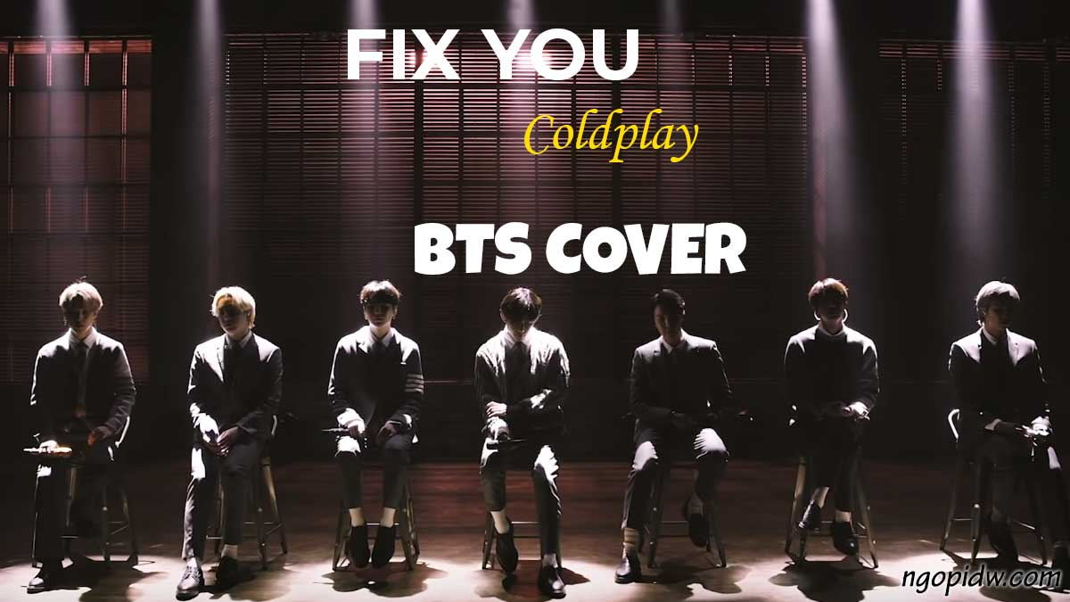 bts fix you coldplay cover