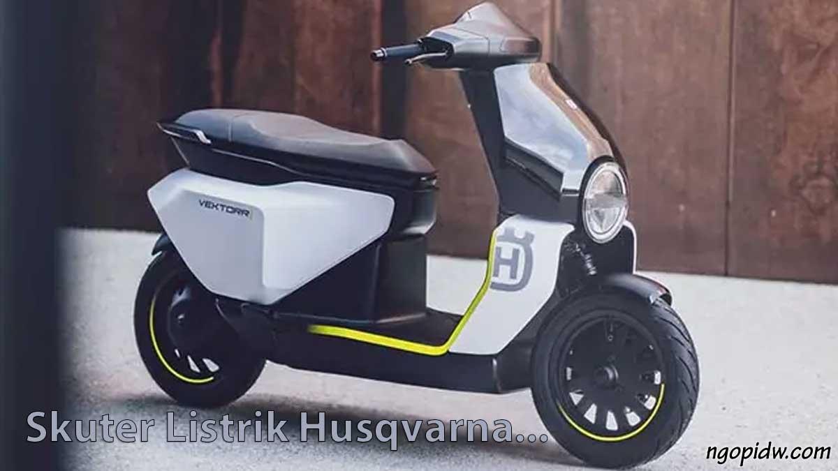 skuter listrik husqvarna