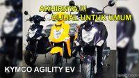 kymco agility ev